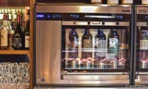 spillatore vino professionale per la cantina de le pizzeria caffe le logge